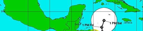 """La tormenta """"Paloma"""" se convierte en huracán y avanza camino de Cuba"""