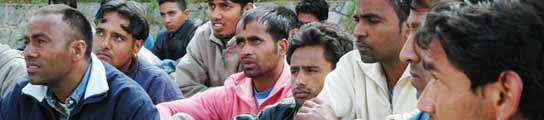 Inmigrantes hindúes
