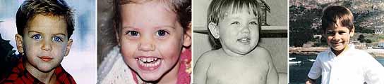 ¿Reconoces a alguno de estos niños?