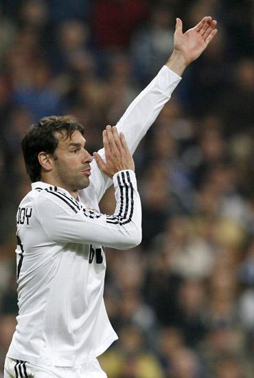 Van Nistelrooy, futbolista del Madrid