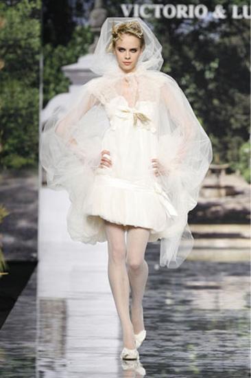 vestidos cortos de novia. Los vestidos nupciales cortos