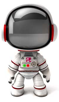 Sackboy astronauta.
