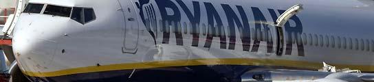 Aterrizaje de emergencia de Ryanair en Roma