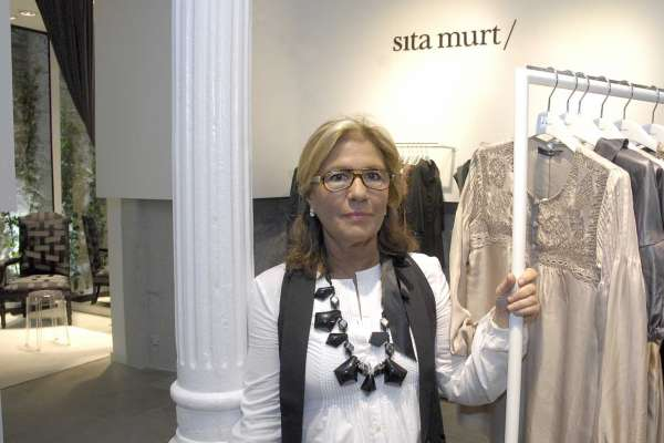 Sita Murt, en su nueva tienda de A Coruña