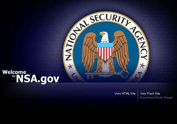 Web de la Agencia Nacional de Seguridad de los EEUU