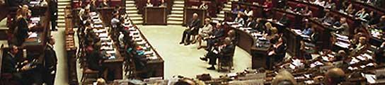 Italia va a publicar en Internet los nombres de los diputados más absentistas