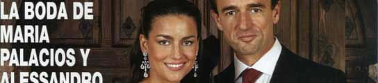 María Palacios y Alessandro Lequio