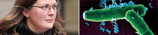 La profesora Geraldine Keita y unas bacterias de ántrax