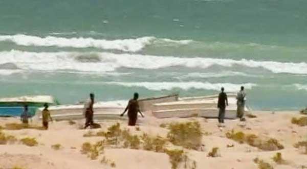 Un grupo de piratas somalíes