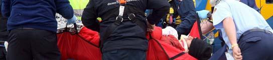 Mark Webber, trasladado al hospital en helicóptero