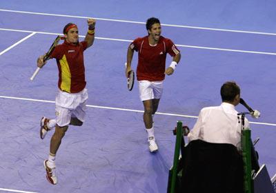 Feliciano López y Fernando Verdasco