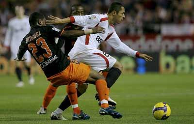 Adriano del Sevilla y Miguel del Valencia