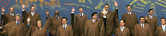 Foto de familia de la APEC