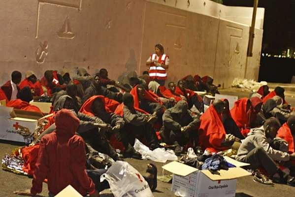 Inmigrantes en San Miguel de Abona