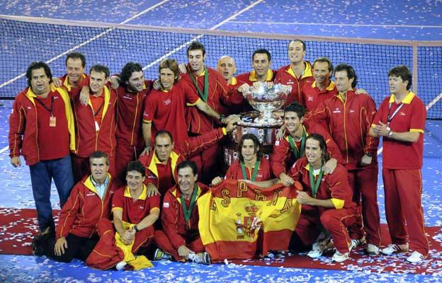 España gana la Davis