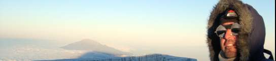 Miguel Ángel en el Kilimanjaro