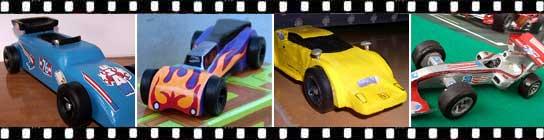 Concurso Dremel maquetas coches de madera.