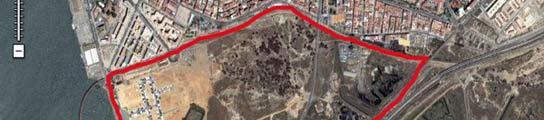 Plano Ensanche Sur Huelva