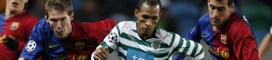 El Barça se asegura el primer puesto de grupo en Lisboa (2-5)