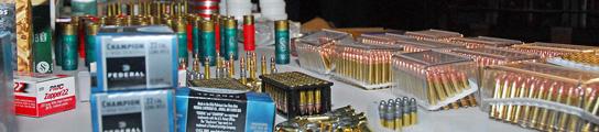 Decomisan en Bolivia media tonelada de munición procedente de Estados Unidos