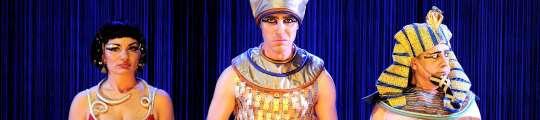 La corte del Faraón.