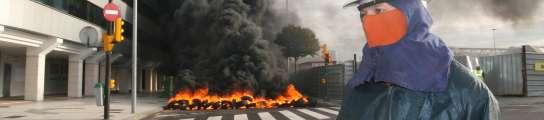 Protestas de Naval Gijón