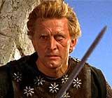 Kirk Douglas, en 'Los vikingos'.