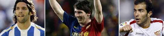 Lafita, Maresca y Leo Messi