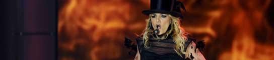 Britney Spears, durante una actuación en Alemania