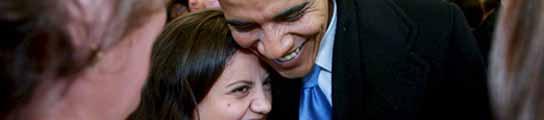 Barack Obama, durante la campaña electoral