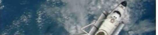 El Endeavour, tras desacoplarse de la ISS