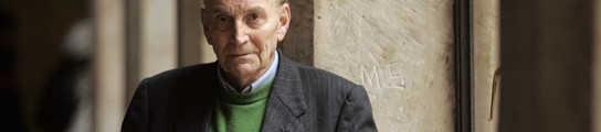 Marcos Ana, poeta y ex preso político, en Salamanca