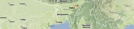 Tres muertos y 30 heridos por una bomba en un tren, en un nuevo atentado en la India