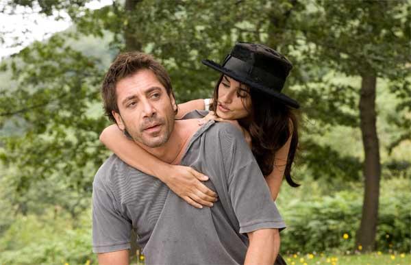 Javier Bardem y Penélope Cruz, en 'Vicky Cristina Barcelona'.