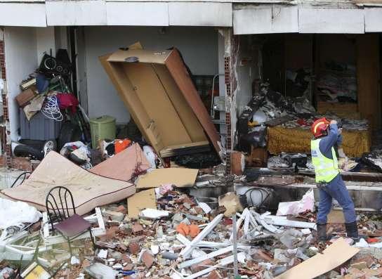 El edificio afectado por una explosi n de gas en gav se for Trabajo en gava