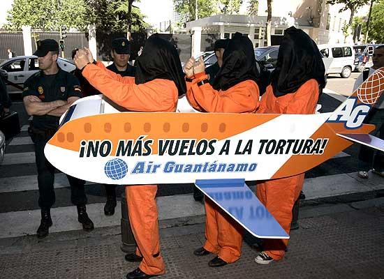 Protesta en la Embajada
