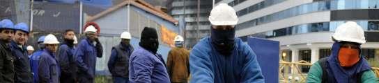 Una de las últimas protestas de los trabajadores
