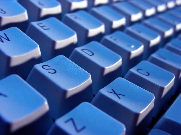 Teclado de un ordenador