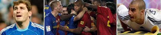 El rodillo del Barcelona espera a un Real Madrid que ya está fuera de la Champions
