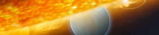 Detectan vapor de agua y dióxido de carbono en un planeta fuera del Sistema Solar