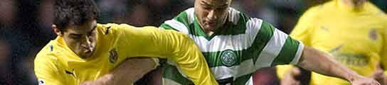 El Villarreal pierde en Glasgow (2-0) y pasa como segundo de grupo
