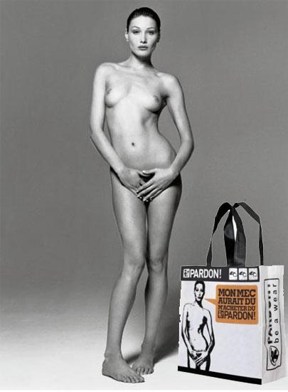 Foto desnuda de carla bruni