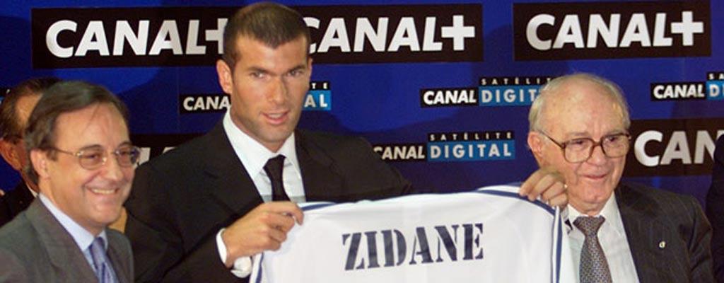 Florentino Pérez y Zidane.