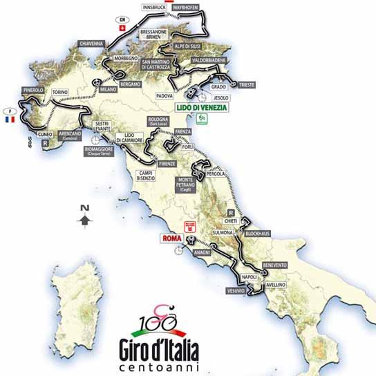 Plano del Giro 2009 544x544