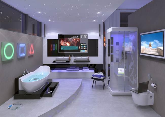 El cuarto de baño de diseño