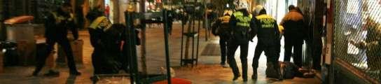 Disturbios en Montera.
