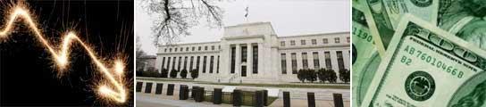 EE UU baja los tipos de interés tres cuartos de punto y los deja situados en el 0,25%