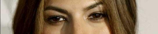 La actriz Eva Mendes.