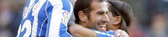 Gol del Deportivo de la Coruña
