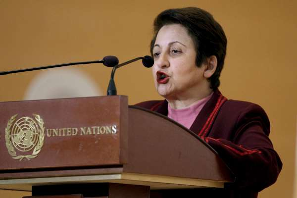 La Nobel de l Paz iraní Shirin Ebadí